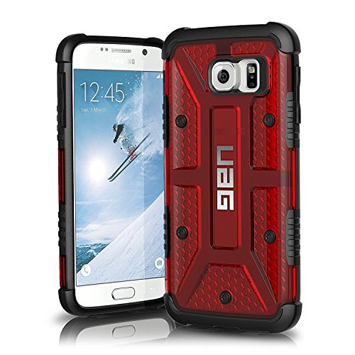 UAG Samsung Galaxy S6 [5.1-inch screen] Feather-Light Composite [MAGMA] Military Drop Tested Phone Case