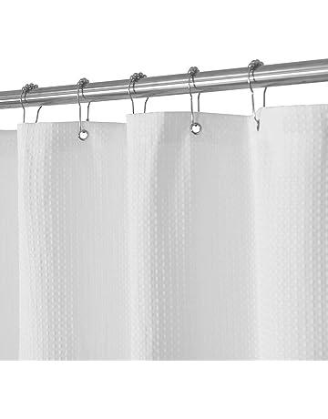 bb67fdcd35ef Waffle Weave Fabric Shower Curtain – Spa