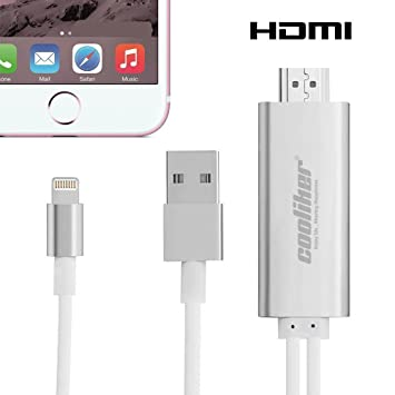 Lightning To Hdmi Cable Cooliker 8 Pin Digital Av To Amazon