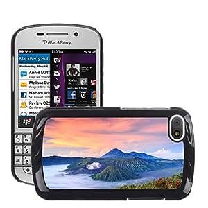Print Motif Coque de protection Case Cover // V00002635 Indonesia volcán Bromo amanecer // BlackBerry Q10