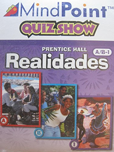 PRENTICE HALL SPANISH REALIDADES GAME CD-ROM LEVEL A/B/1 FIRST EDITION 2004C