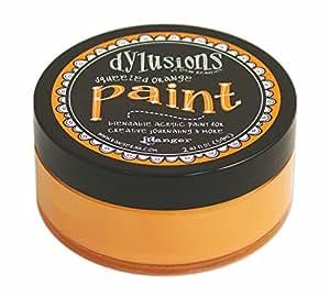 Ranger Dyan Reaveley's Dylusions Paint, 2 oz, Squeezed Orange