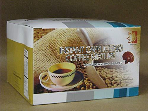 Ganoderma Instant Cappuccino Coffee Mixture by Diamond Interest - 15 Sachets (Instant Cappuccino Coffee Mixture With Ganoderma Powder)