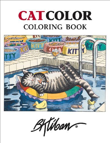 Kliban CatColor Coloring Book for sale  Delivered anywhere in USA