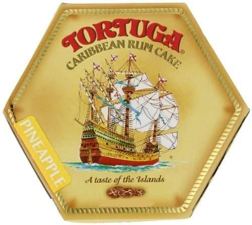 Tortuga Caribbean Rum Cake, 4 ounce Pineapple - Rum Pineapple