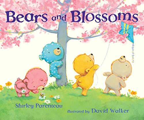 (Bears and Blossoms (Bears on Chairs))