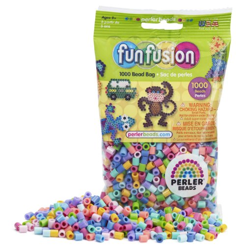 - Perler Beads Pastel Mix Bead Bag (1000 Count)