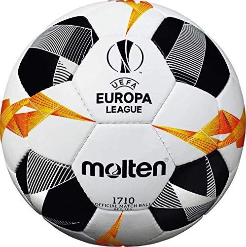 Gunn /& Moore Molten 1710 UEFA Europa League Ballon de Match Officiel Unisexe F5U1710-G9 Blanc//Noir//Orange Mixte Size 5