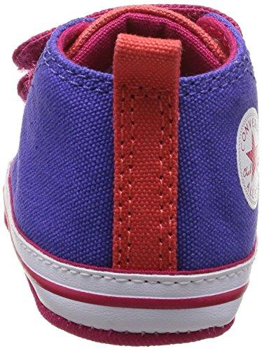Converse Chuck Taylor Crib Scratch - Primeros Pasos de canvas Bebé - unisex Morado - Violet (Violet/Framboise)