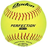 Baden 2Bsfpy Perfection Nfhs Fast Pitch Softballs 12 Ball Pack