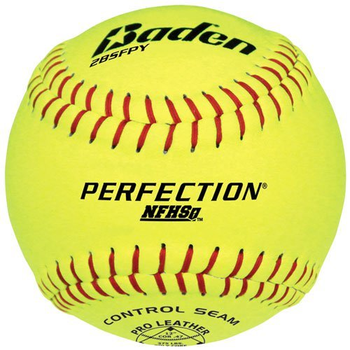 Baden 2Bsfpy Perfection Nfhs Fast Pitch Softballs 12 Ball Pack by Baden Sports