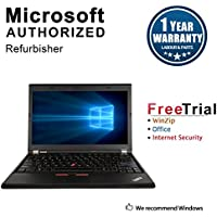 Lenovo ThinkPad X230 12.5 Laptop Computer(Intel Core i5-3320M 2.4G,4G RAM DDR3,500G HDD ,Windows 10 Professional)(Certified Refurbished)