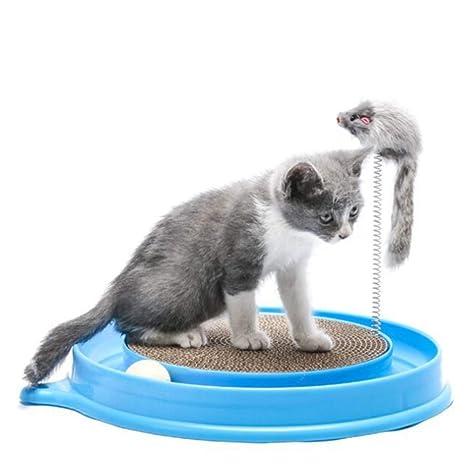 EMVANV Juguete para rascador de Gatos, Juguete Interactivo Seguro para Entrenar a Gatos, Juguete