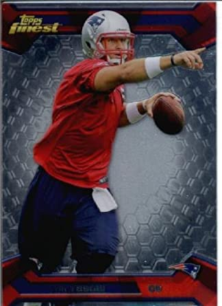 competitive price 1ffa4 d4baa 2013 Topps Finest Football Card #73 Tim Tebow New England ...