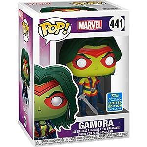 Funko-Pop-Marvel-Gamora-Exclusive-Vinyl-Figure-441-Bundled-with-Compatible-Pop-Box-Protector-Case