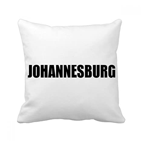 Buy DIYthinker Johannesburg South Africa Name Square Throw Pillow ...