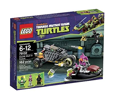 Lego Ninja Turtles Stealth Shell In Pursuit 79102 by LEGO
