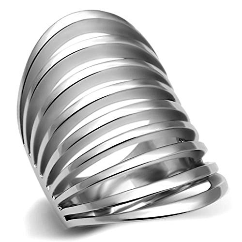 Womens Fashion Jewelry Ring, Premium Grade High Quality Stainless Steel, by Classy Not Trashy®
