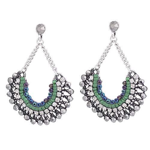 Women's Girl's Clothes Accessoire-Bohemian Earrings-Elegant Multipurpose Ear Drop by A AURA