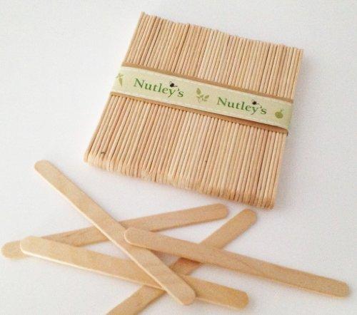 50 Nutley's Wooden Seedling Labels Nutley's