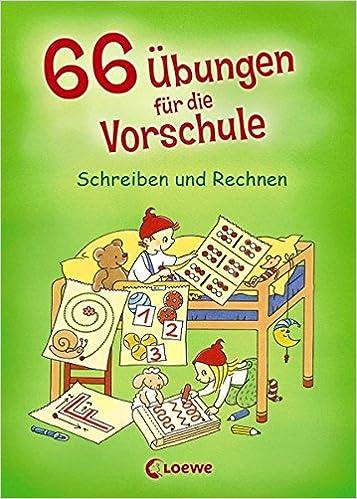 66 Übungen für die Vorschule: Schreiben und Rechnen: Amazon.de ...