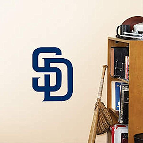 MLB San Diego Padres Fathead Logo Decal (San Diego Padres Fan Banner)