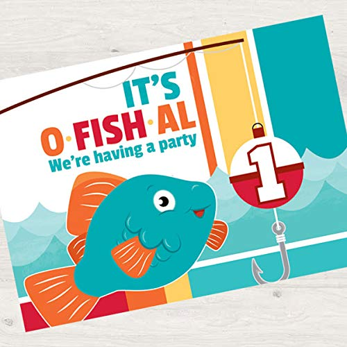 fish birthday invitations - 7