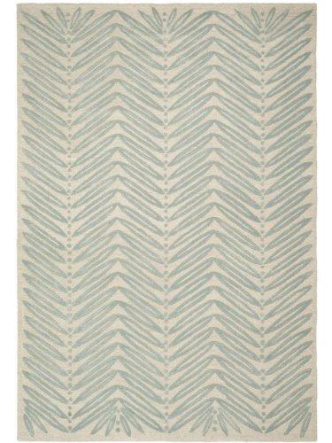 Safavieh Martha Stewart Collection MSR3612A Premium Wool and Viscose Chamois Beige Runner Rug 2 3 x 10