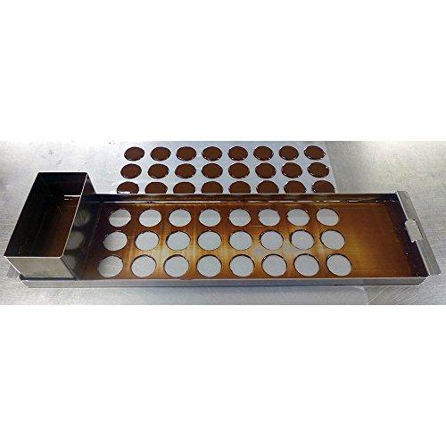 Matfer Bourgeat Do It Yourself 1.5'' Chocolate Discs Kit Stainless Steel 385040 by Matfer Bourgeat