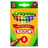 Crayola 8 Nontoxic Crayons, 1 Pack