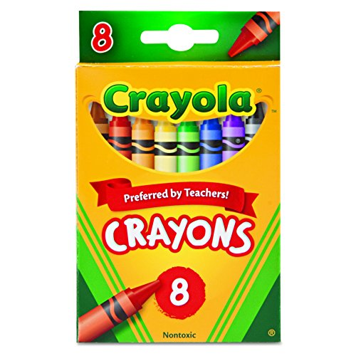 Crayola 523008 Classic Color Crayons - Peggable Retail Pack - Peggable Retail Pack - 8 Colors