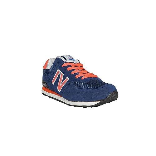 Excellent - New Brand FLUORES 587-10 Zapatillas Casuales de Mujer Cómodas Moda de Vestir Bajas Azul Gris Baratas: Amazon.es: Zapatos y complementos