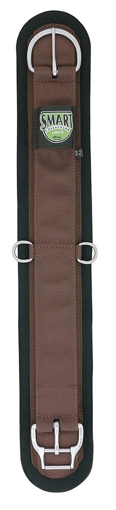 (70cm , Brown) - Weaver Leather Felt Lined Straight Smart Cinch with New and Improved Roll Snug Cinch Buckle   B009H0M02K