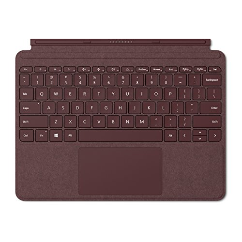 Microsoft Surface Go Alcantara Signature Type Cover (KCS-00041) - Burgundy Cover