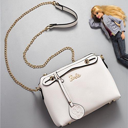 Barbie dulce Bandolera de Bolso Elegante Bolso Bolera Simple Moderno 6 rwSgrqx