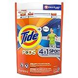 Tide PODS Plus Febreze, Sport Odor Defense Liquid Laundry Detergent Pacs, Active Fresh Scent 32 count