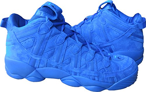 Fila Mens Spaghetti Hightop Basketball Shoes Sneakers Blue/Blue/White 3YP2J4pemd