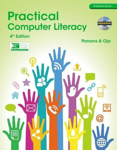 Practical Computer Literacy (with CD-ROM) (New Perspectives) 4th edition by Parsons, June Jamrich, Oja, Dan (2013) Paperback