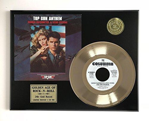 Top Gun Anthem LTD EDITION GOLD 45 RECORD DISPLAY - Anthem Outlet