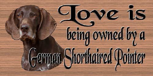 GiggleSticks Dog Plaque German Shorthaired Pointer ()