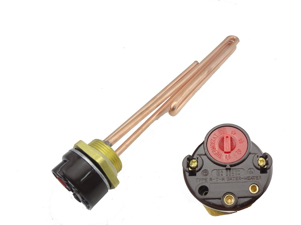 with thermostat MISOL 1 pcs of 1500W 1.25 220V Electrical immersion element booster
