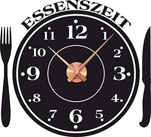 Graz Design - Reloj de pared con reloj de cocina con mensaje ...