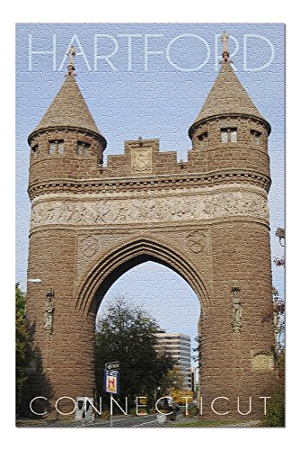 Hartford, Connecticut - Soldiers and Sailors Memorial Arch (20x30 Premium 1000 Piece Jigsaw Puzzle, Made in ()