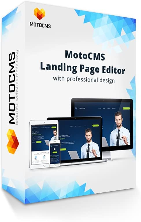 Amazon Com Motocms Landing Builder Create Your Responsive Website Easy Without Any Coding Skills 50 Ready Made Website Designs