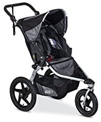 The Revolution Flex 2.0 is an ideal on-and off-road jogging stroller for outdoor enthusiasts and urbanites alike. Its swivel-locking front wheel swivels for easy maneuverability or locks for stability when jogging on-or-off-road; and it inclu...