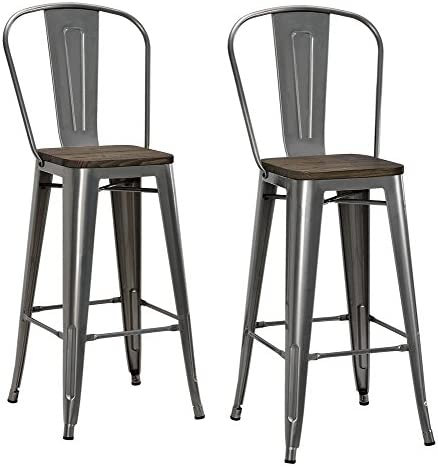 DHP Luxor Metal Counter Stool