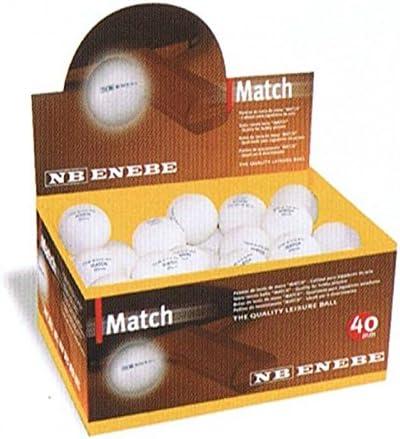 Enebe Match Pelotas Tenis de Mesa Caja 60 Bolas