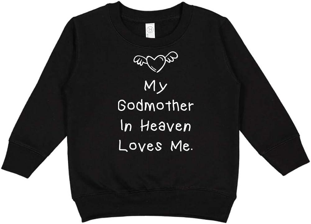 My Godmother in Heaven Loves Me Toddler//Kids Sweatshirt