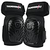 NEW! Womens Professional Knee Pads by Thunderbolt Most Comfortable Gel Cushion for Work, Flooring, Construction, Gardening, Volleyball, Ice Skating, Skateboarding