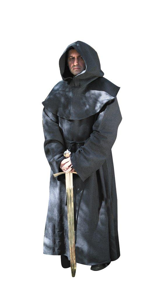 Museum Replicas MRP100298BLK-BRK Monks Robe black